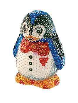 3d-sequin-art-penguin