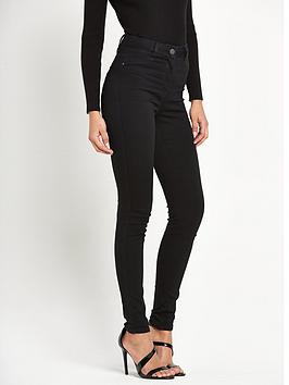 V By Very Petite Addison High Waisted Super Skinny Jeans