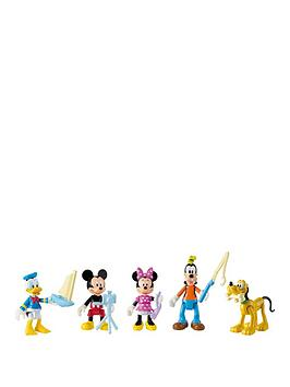 Mickey Mouse 5 Pack Figure