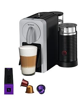 Nespresso Prodigio &Amp Milk By Magimix Coffee Machine  Silver