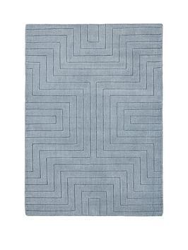 carved-maze-wool-rug
