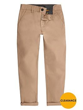 river-island-boys-tan-slim-chino-trousers