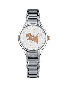 radley-on-the-run-white-dog-dial-silver-tone-bracelet-ladies-watch