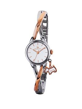 radley-radley-bayer-white-dial-two-tone-dog-charm-bangle-bracelet-ladies-watch