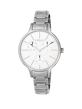 radley-radley-wimbledon-link-multi-functional-dial-silver-tone-bracelet-watch