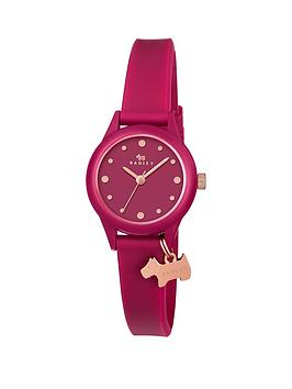 radley-radley-watch-it-pink-dial-pink-silicone-dog-charm-strap-ladies-watch