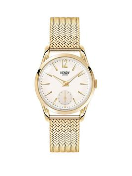henry-london-henry-london-westminster-white-dial-gold-tone-mesh-bracelet-ladies-watch