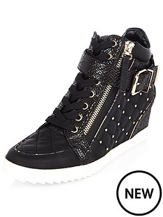 river-island-rudd-hidden-wedge-quilted-hi-tops