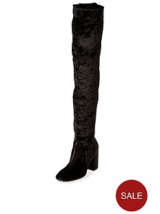 river-island-velvet-over-the-knee-boot-black