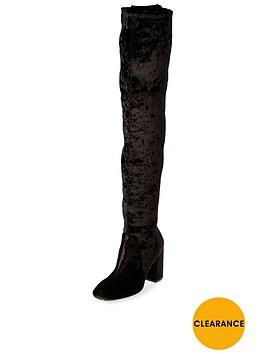 river-island-velvet-over-the-knee-boot-black