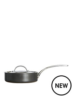 raymond-blanc-by-anolon-raymond-blanc-simply-perfect-24cm-hard-anodised-non-stick-saute-pan