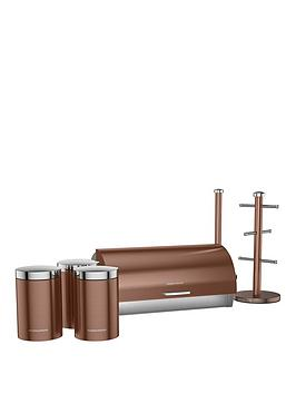 Morphy Richards Accents 6Piece Storage Set In Copper