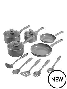 morphy-richards-swan-5-piece-pan-set-with-5-piece-utensil-set-slate