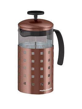 morphy-richards-accents-8-cup-cafetiere-in-copper