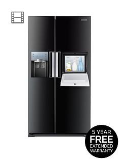 samsung-rs7677fhcbceu-no-frost-american-style-fridge-freezer-with-homebar-black