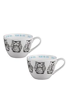 portobello-by-inspire-three-wise-owls-wilmslow-bone-china-mugs-ndash-set-of-2