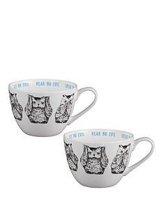 portobello-by-inspire-three-wise-owls-wilmslow-bone-china-mugs-ndash-set-of-2