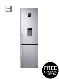 samsung-rb37j5920sleunbsp60cm-frost-free-fridge-freezer-with-all-around-cooling-system-and-5-year-samsung-parts-and-labour-warranty-silver