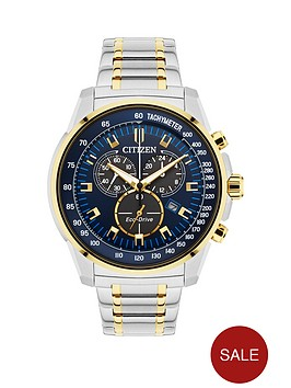citizen-citizen-eco-drive-blue-dial-chronograph-two-tone-stainless-steel-bracelet-mens-watch