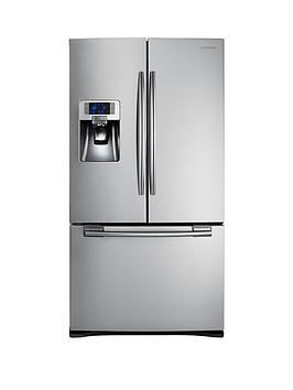 Samsung Rfg23Uers1Xeu French Door Side By Side Fridge Freezer With Twin Cooling Plus  Silver