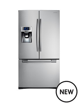 samsung-rfg23uers1xeu-french-door-side-by-side-fridge-freezer-next-day-delivery-silver