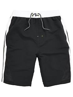 v-by-very-boys-contrast-panel-airtex-swim-shorts
