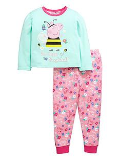 peppa-pig-girls-bumblebee-long-pyjamas