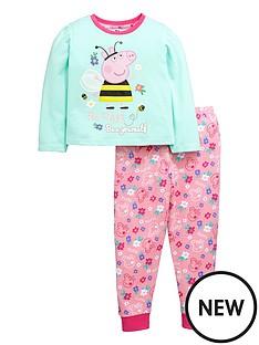 peppa-pig-girls-bumblebee-long-pyjamas