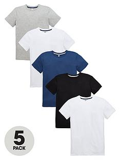 v-by-very-boys-loungewearnbspt-shirts-5-pack
