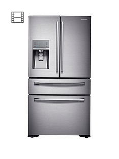 samsung-rf24hsesbsreu-french-door-side-by-side-fridge-freezer-with-sodastreamnbspand-5-year-samsung-parts-and-labour-warranty--nbspsilver