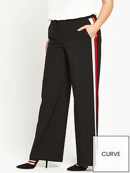 v-by-very-curve-stripe-side-wide-leg-trouser