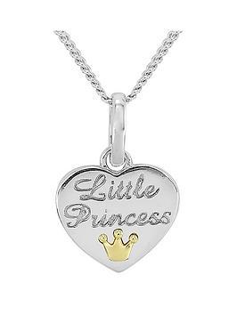 keepsafe-keepsafe-sterling-silver-kids-039little-princess039-heart-pendant-with-9ct-gold-crown