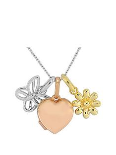 keepsafe-keepsafe-personalised-sterling-silver-rose-rhodium-and-yellow-gold-charm-necklace