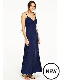 v-by-very-ladder-detail-beach-maxi-dress