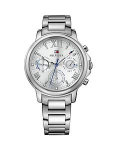 tommy-hilfiger-tommy-hilfiger-claudia-silver-multi-function-dial-silver-tone-bracelet-ladies-watch