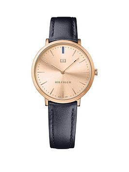 tommy-hilfiger-tommy-hilfiger-ultra-slim-gold-tone-bergundy-leather-strap-ladies-watch