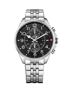 tommy-hilfiger-tommy-hilfiger-dean-black-multifunction-dial-stainless-steel-mens-watch
