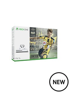 xbox-one-s-1tb-white-console-with-fifa-17-with-optional-extra-controller-and-12-months-live-subscription