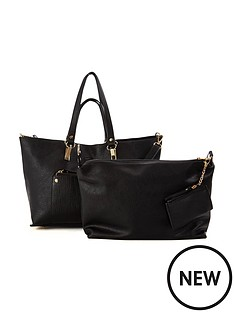 oasis-nancy-shopper-black