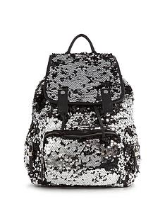 miss-selfridge-sequin-rucksack