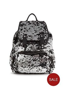 miss-selfridge-sequin-rucksack