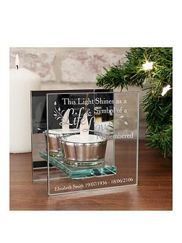 personalised-in-loving-memory-glass-tealight-holder