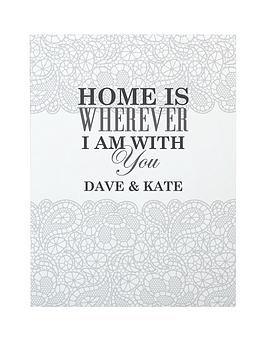 personalised-lace-print-canvas