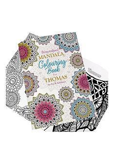 personalised-mandala-colouring-book