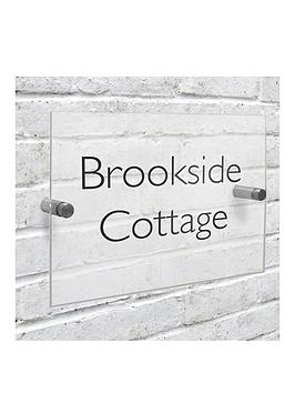 personalised-modern-acrylic-house-sign