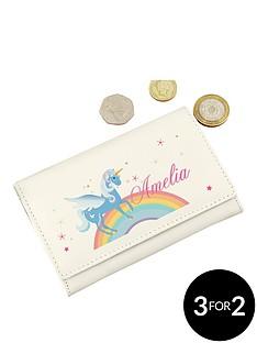 personalised-love-unicorns-purse