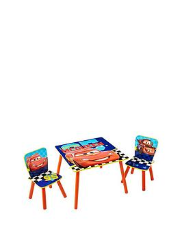 Disney Cars Cars Table And 2 Chairs