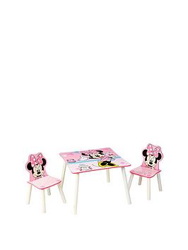Minnie Mouse Table And 2 Chairs