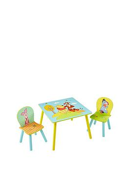 Winnie The Pooh Table And 2 Chairs