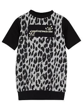 river-island-mini-mini-girls-leopard-print-t-shirt-dress